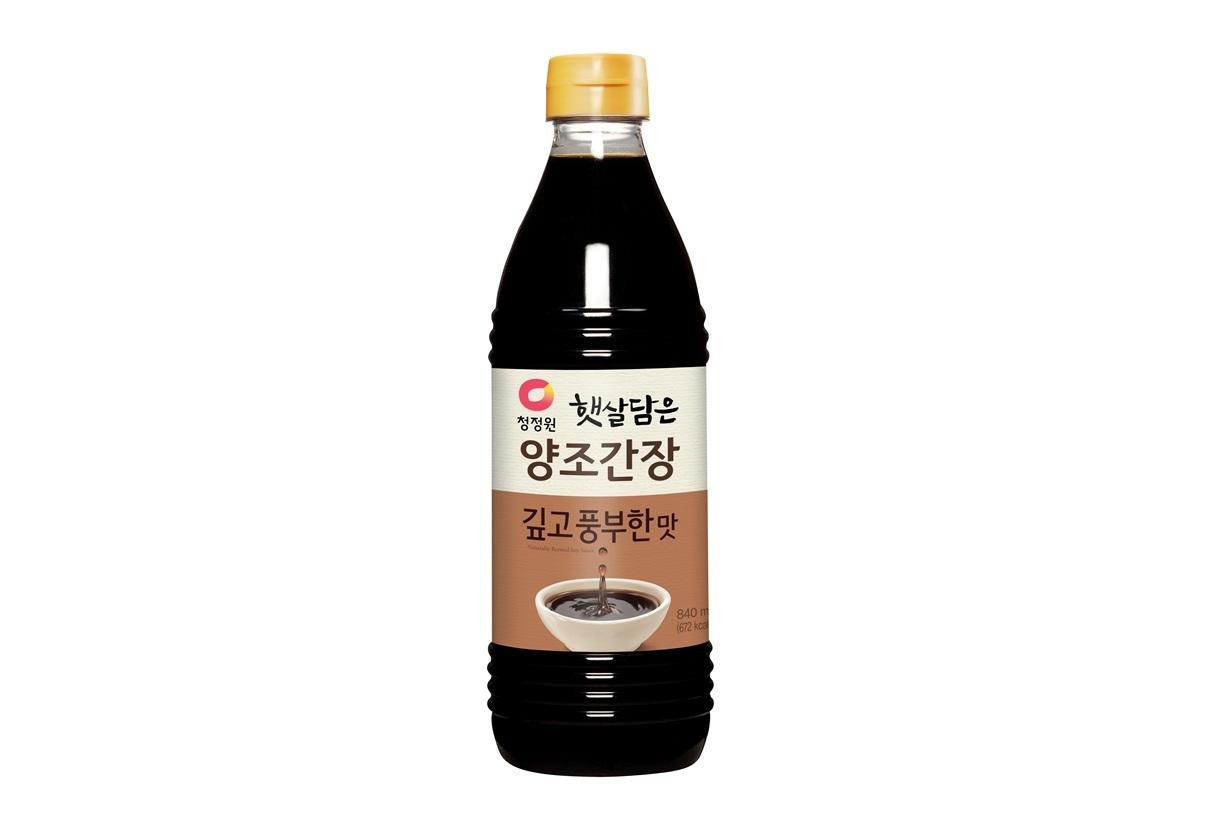 청정원)양조간장깊고풍부한맛840ml