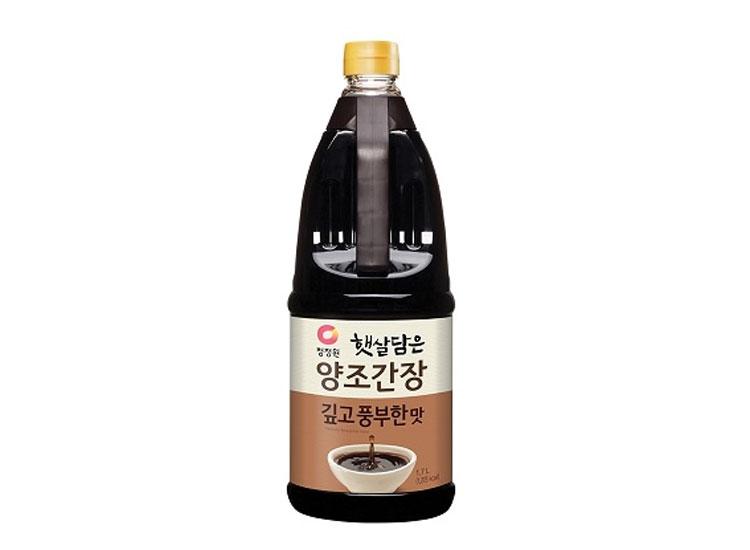 청정원)양조간장깊고풍부한맛1.7L