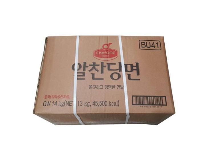 청정원)쉐프원알찬당면14kg.