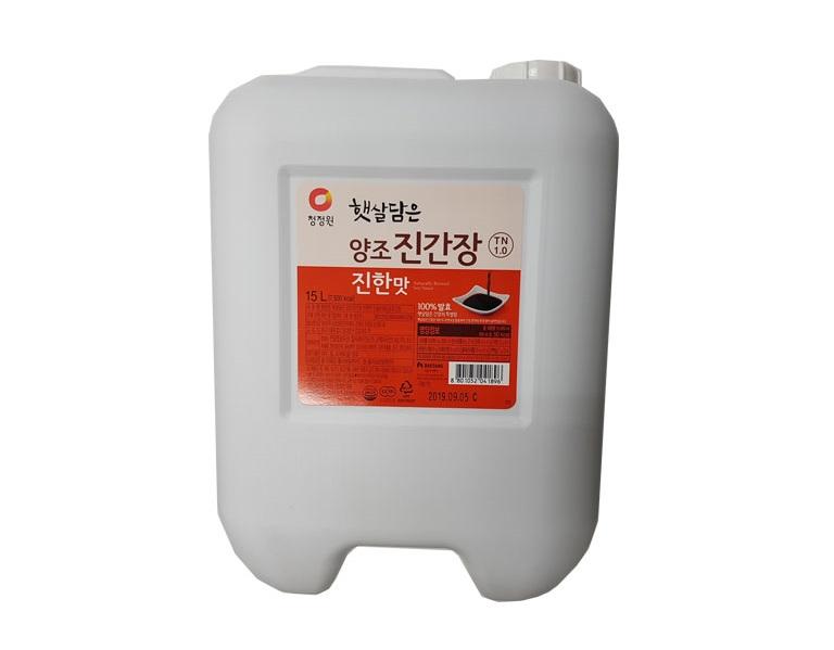 청)햇살담은양조진간장진한맛15L