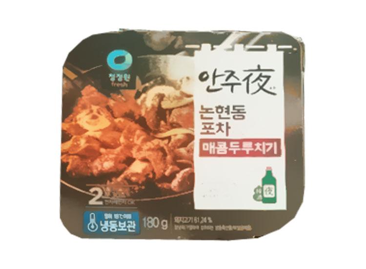 청정원)안주야매콤두루치기180g