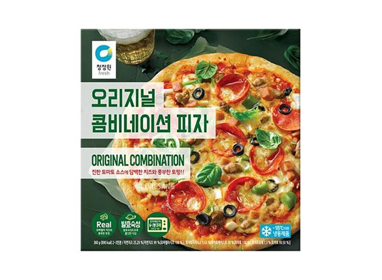 청정원)오리지널콤비네이션피자360g