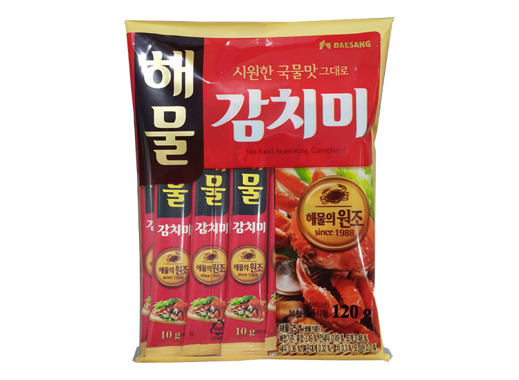 청정원)해물감치미120g