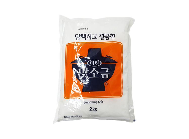 청정원)맛소금2kg