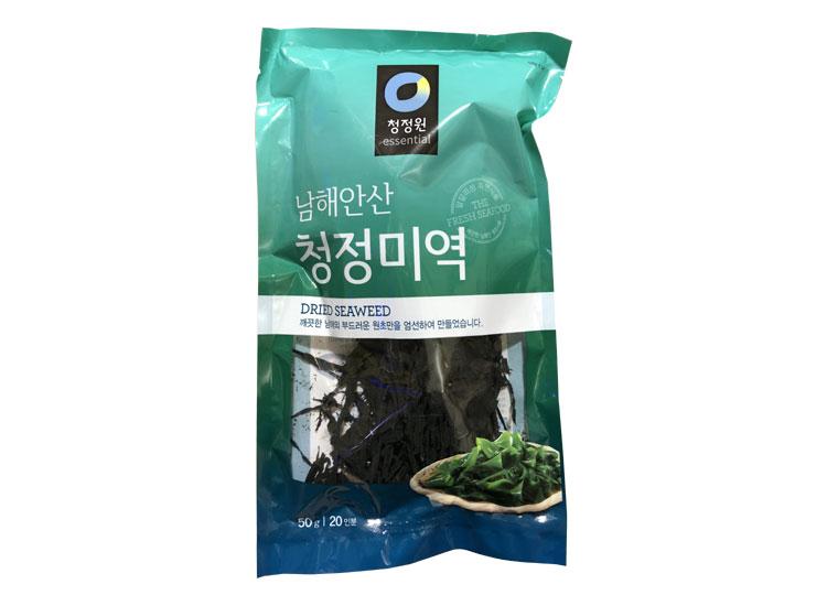 청정원)청정미역50g