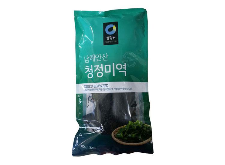 청정원)청정미역80g