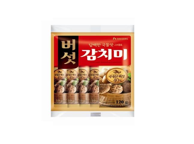 청정원)버섯감치미120g