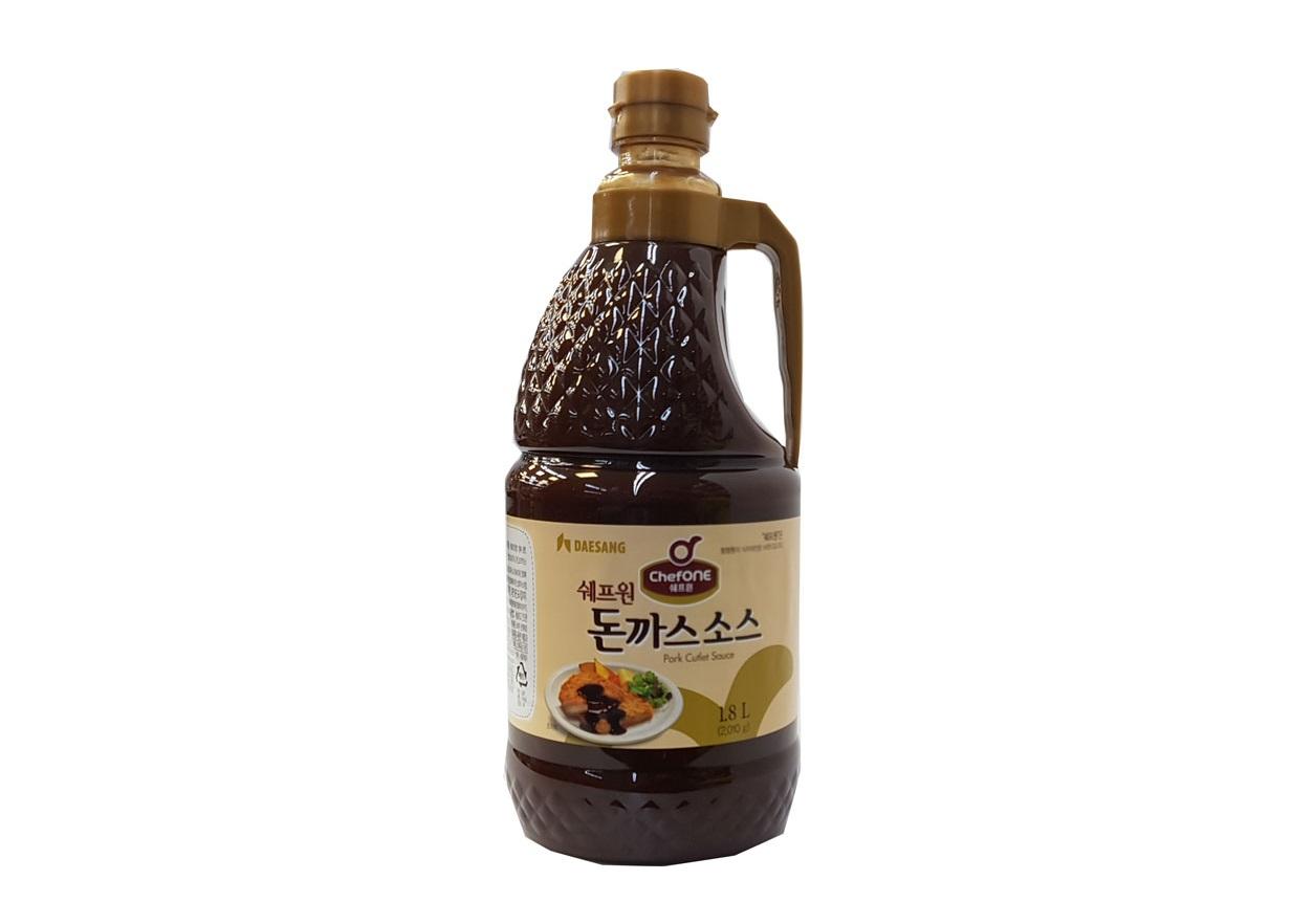 청정원)쉐프원돈까스소스1.8L