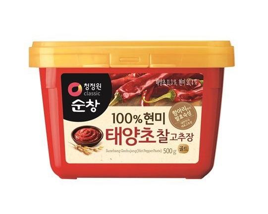청정원)(쌀)찰고추장500g사각