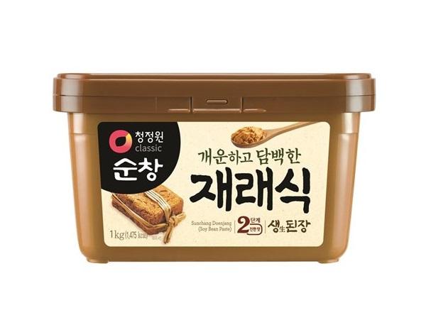 청정원)재래식된장1kg사각