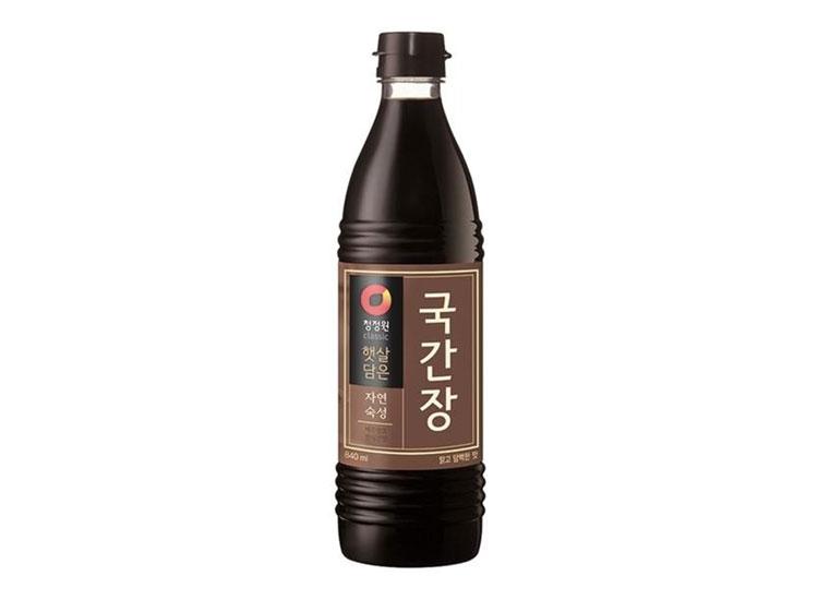 청정원)자연숙성국간장500ml