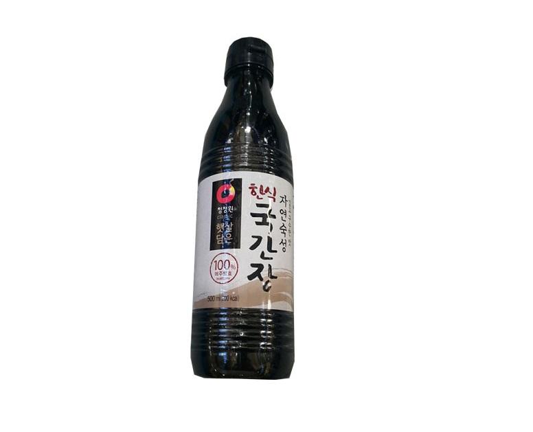 청정원)한식국간장500ml