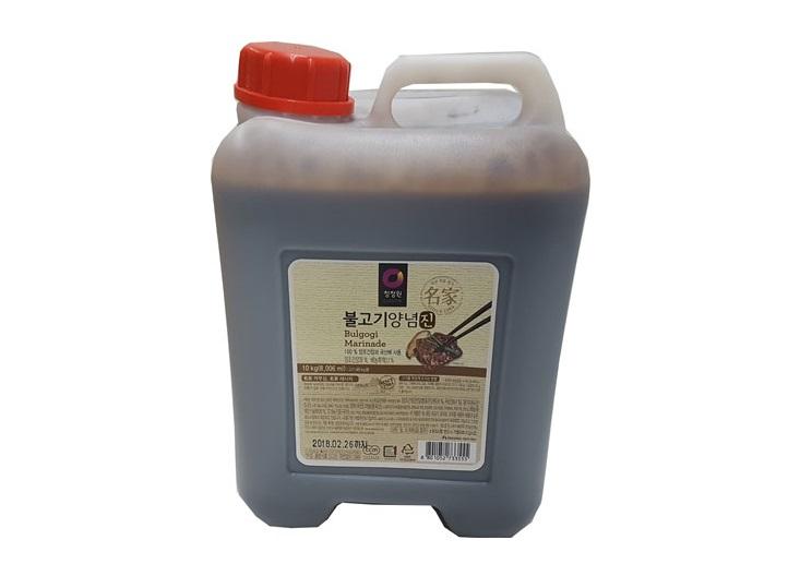 청정원)불고기진양념10kg