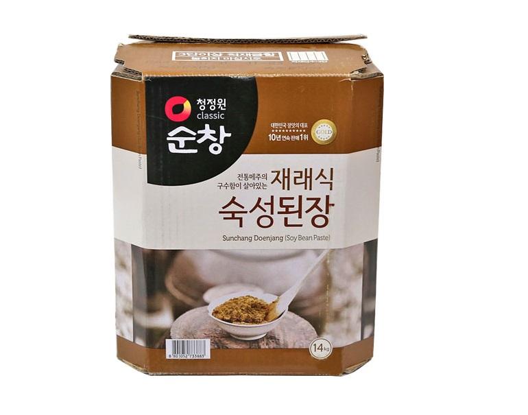 청)순창재래식된장14kg지함