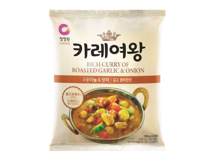 청정원)카레여왕마늘양파108g