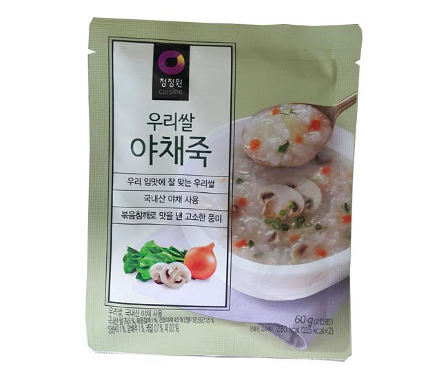 청정원)우리쌀야채죽60g