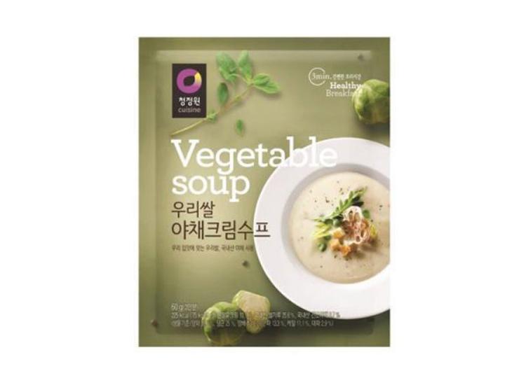 청정원)우리쌀야채크림수프60g