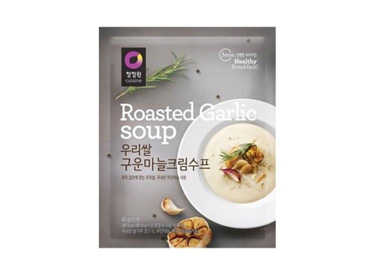 청정원)우리쌀마늘크림수프60g