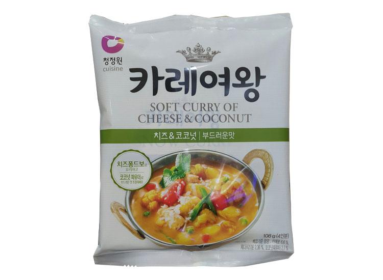 청정원)카레여왕치즈코코넛108g