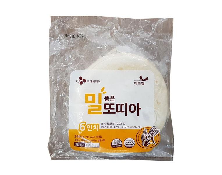 청정원)쉐프원밀또띠아6인치