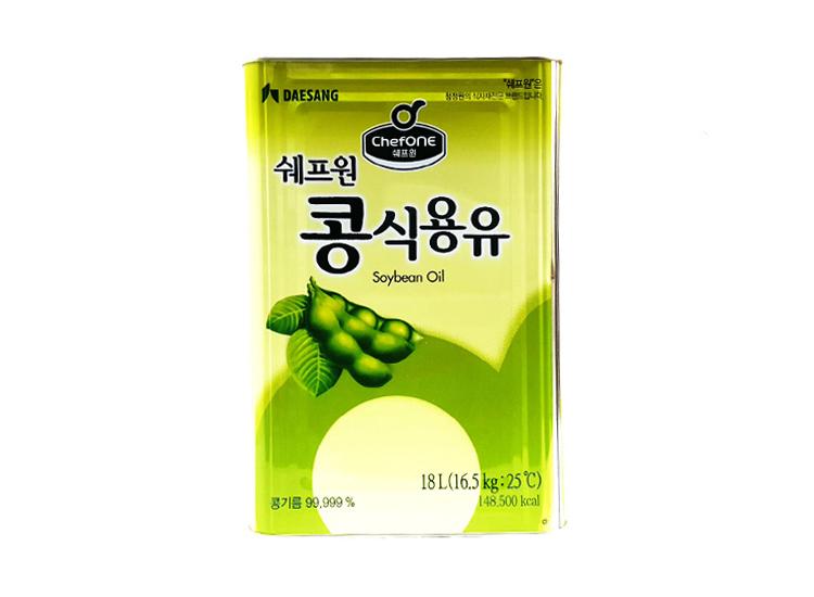 청정원)쉐프원콩식용유18L