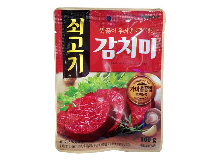 청정원)쇠고기감치미100g