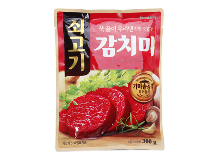 청정원)쇠고기감치미300g