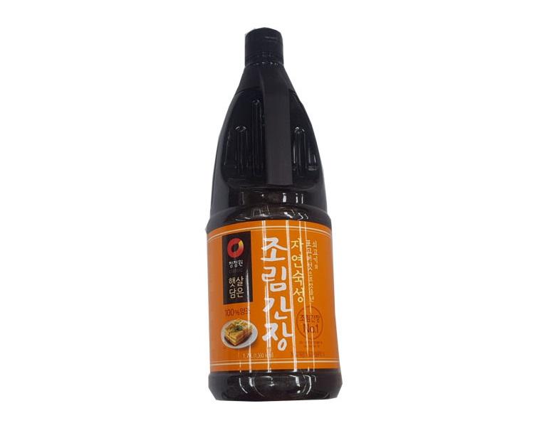 청정원)자연숙성조림간장1.7L+500ml