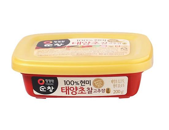 청)(쌀)찰고추장200g사각