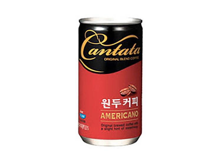롯데)칸타타아메리카노175ml캔