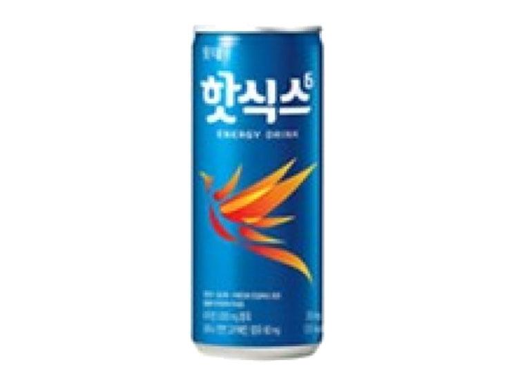 롯데)핫식스250ml캔