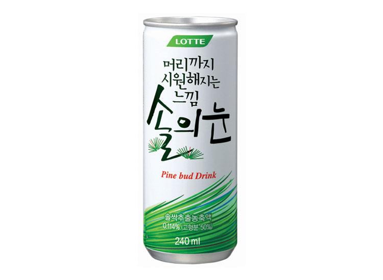 롯데)솔의눈240ml캔