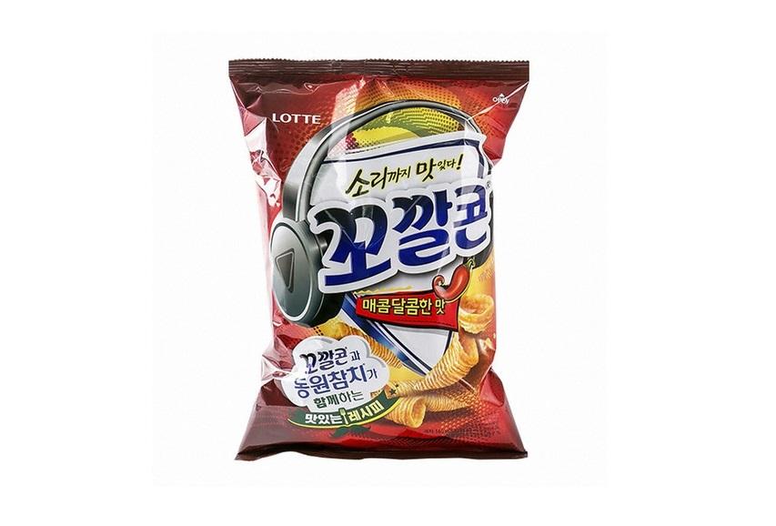 롯데)꼬깔콘매콤달콤한맛128g