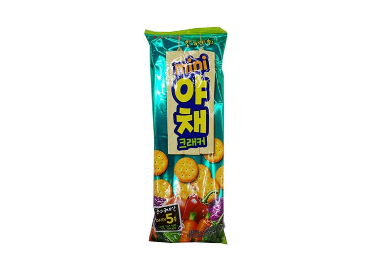 롯데)미니야채크래커138g