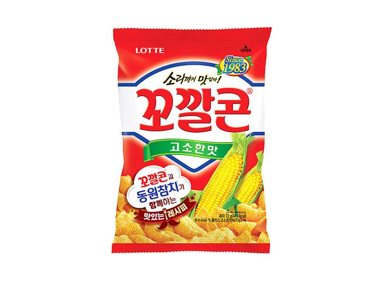 롯데)꼬깔콘고소한맛72g
