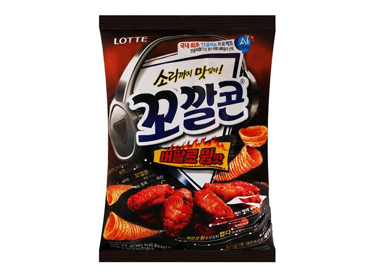 롯데)꼬깔콘버팔로윙맛72g