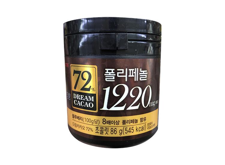 롯데)3000드림카카오72%(86g)