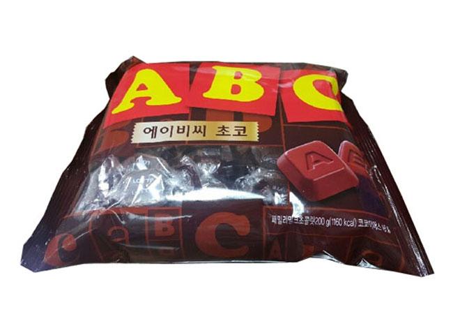 롯데)ABC초콜릿200g