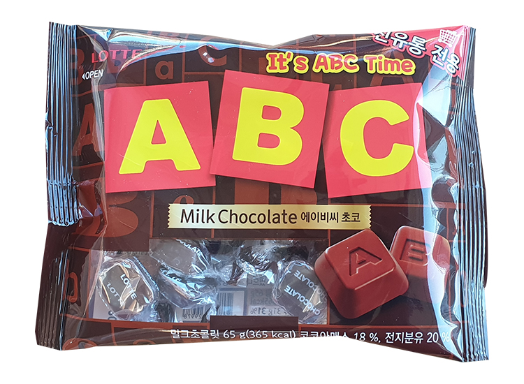롯데)ABC초콜릿65g