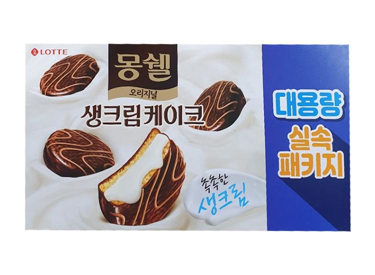 롯데)몽쉘오리지널4갑(24봉)768g