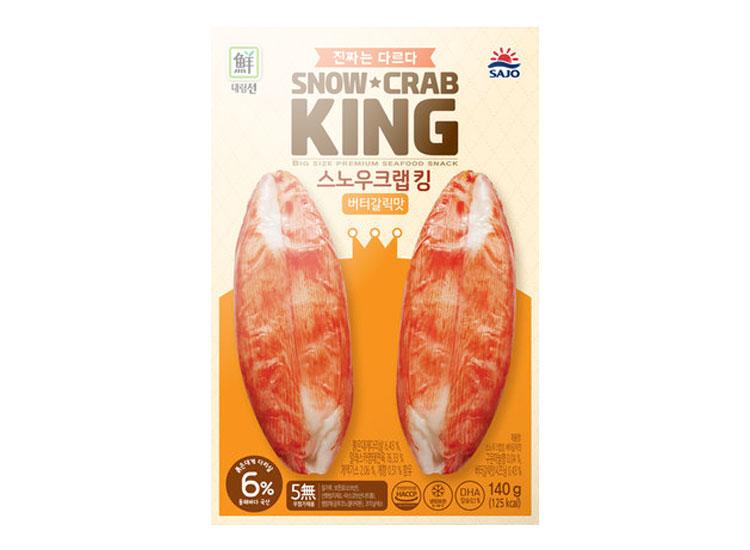 대림)스노우크랩킹버터갈릭맛140g