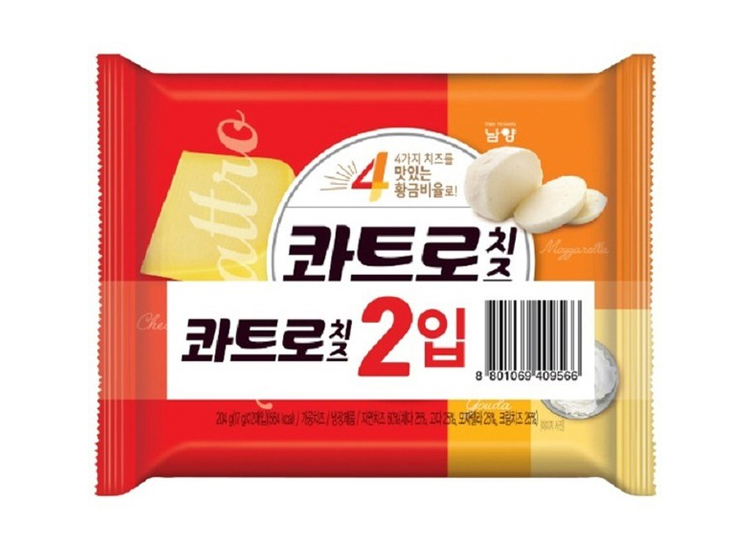 남양)콰트르치즈17g*12매