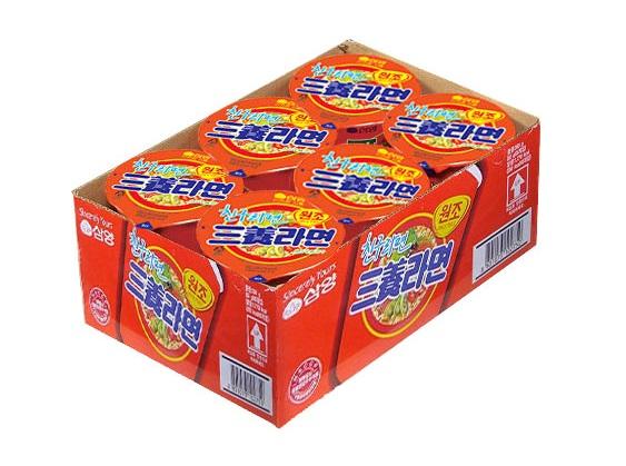 삼양)컵라면小(6입)-box