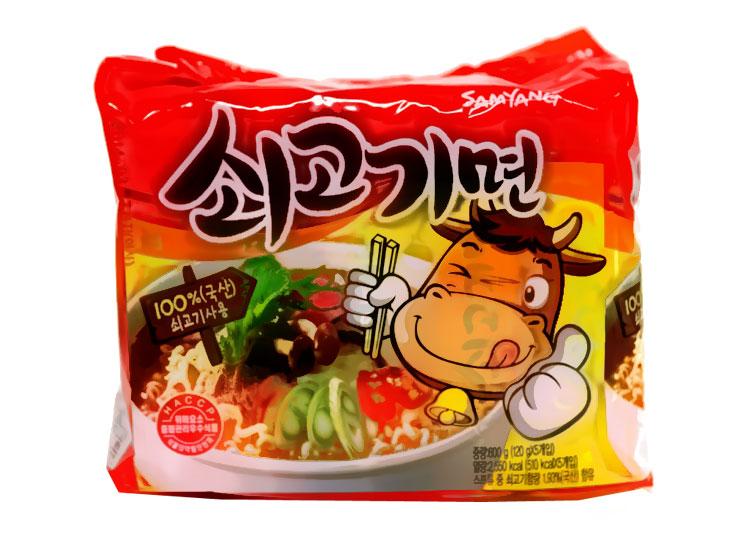 삼양)쇠고기라면