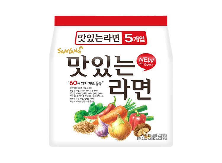 삼양)맛있는라면멀티115g*5