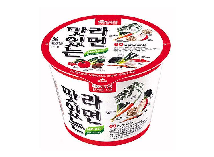 삼양)맛있는라면112g
