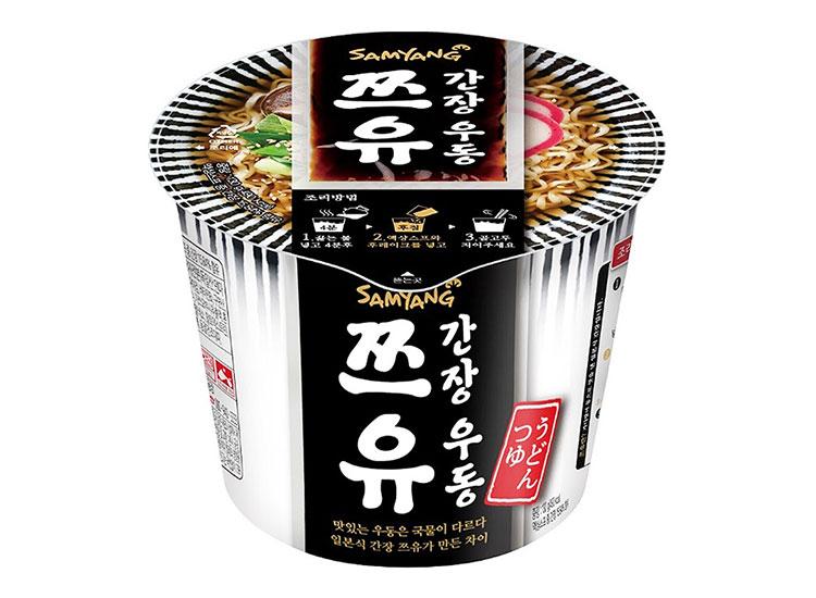 삼양)쯔유간장우동큰컵130g