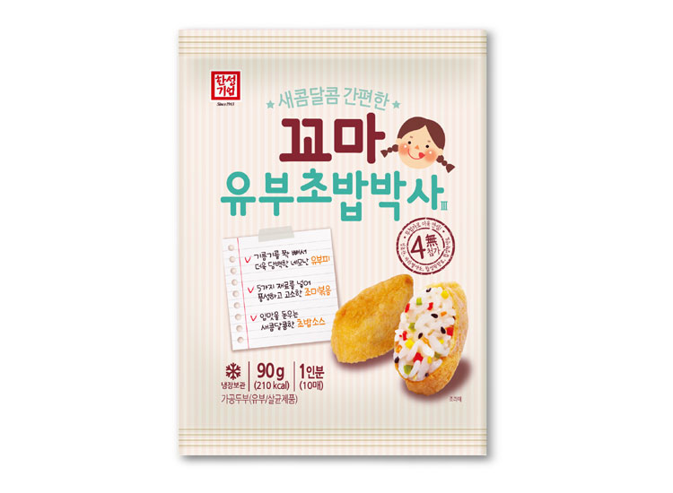 한성)꼬마유부초밥90g*2