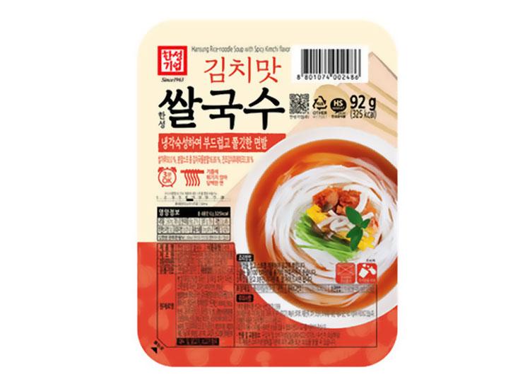 한성)김치맛쌀국수92g