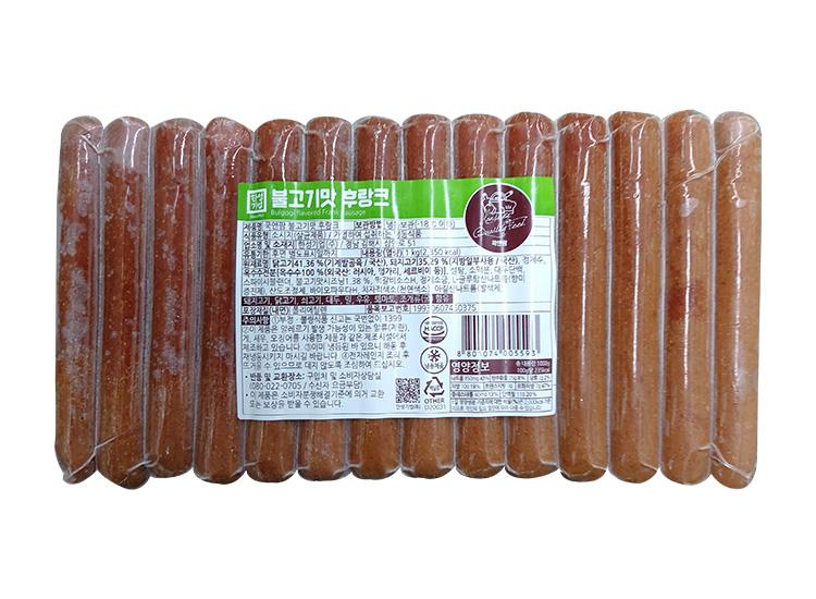 한성)불고기맛후랑크1kg